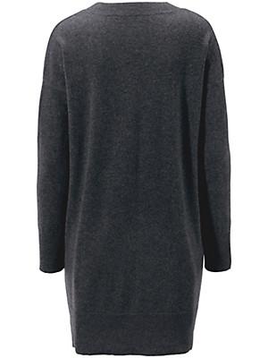 Peter Hahn Cashmere - V neck jumper in pure cashmere