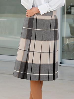 Peter Hahn - Checked skirt