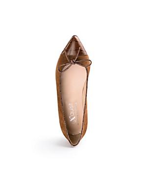 Peter Hahn exquisit - Lambskin suede ballerinas