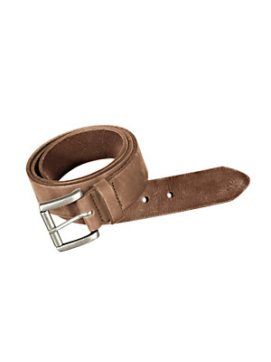 Peter Hahn - Exquisite suede belt