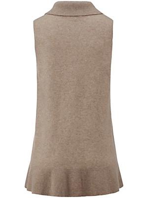 Peter Hahn - Gilet in 100% new milled wool