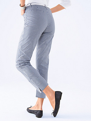 Peter Hahn - Gingham check trousers
