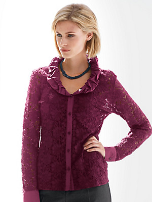 Peter Hahn - Lace blouse
