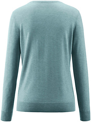 Peter Hahn - Long-sleeved round neck pullover
