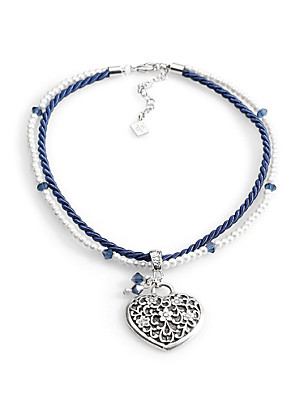 Peter Hahn - Necklace with a heart pendant