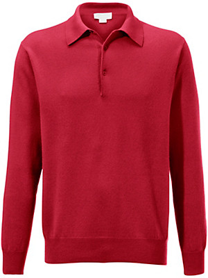 Peter Hahn - Polo jumper in 100% cashmere