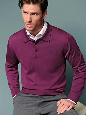 Peter Hahn - Polo jumper in 100% new wool - Design ACHIM