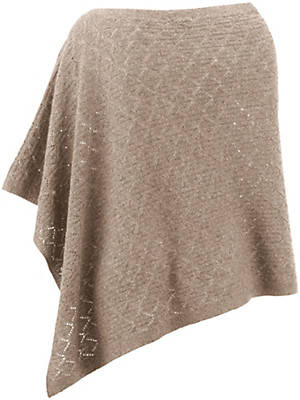 Peter Hahn - Poncho in 100% new milled wool