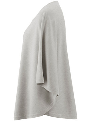Peter Hahn - Poncho jumper in 100% new milled wool