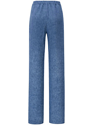 Peter Hahn - Pull-on trousers in 100% linen