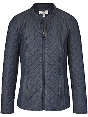 Peter Hahn - Quilted denim jacket