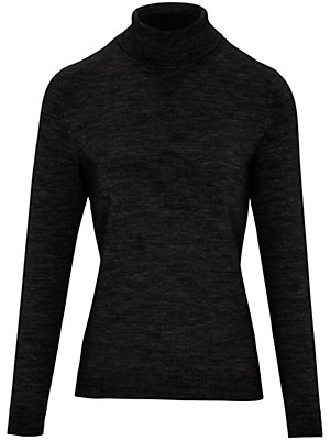 Peter Hahn - Roll-neck jumper in 100% new milled wool