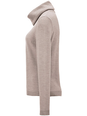 Peter Hahn - Roll neck jumper in 100% new milled wool