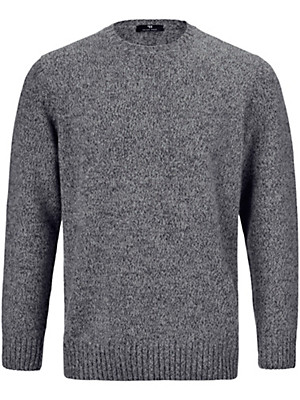 Peter Hahn - Round neck pullover in 100% wool