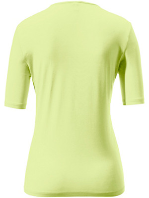 Peter Hahn - Round neck top with short sleeves