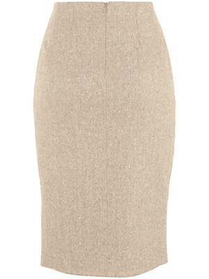 Peter Hahn - Straight-cut tweed skirt