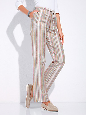 Peter Hahn - Striped trousers