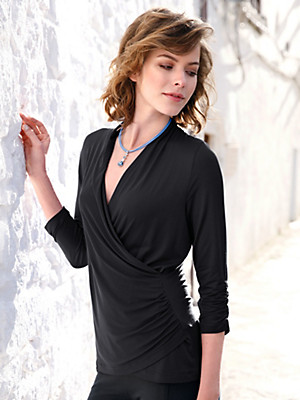Peter Hahn - Top with 3/4-length-sleeves