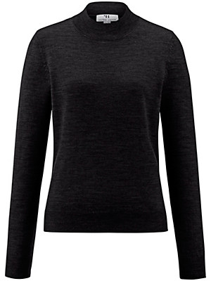 Peter Hahn - Turtleneck jumper in 100% new milled wool