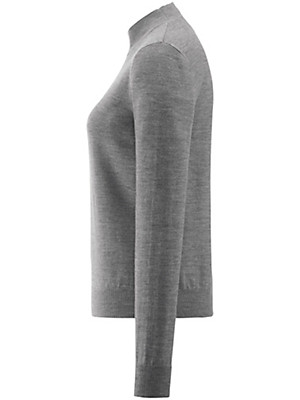 Peter Hahn - Turtleneck jumper in 100% new milled wool