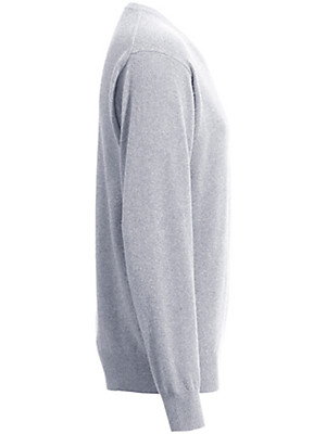 Peter Hahn - V neck jumper in 100% cashmere