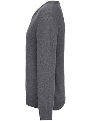 Peter Hahn - V-neck jumper in 100% new milled wool