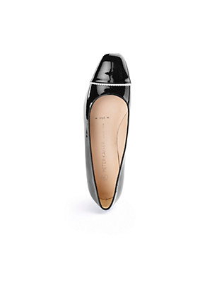 """Peter Kaiser - Leather ballerinas in a """"Plus"""" width"""