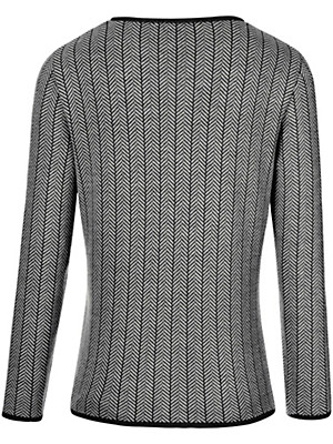 Peterseim - Cardigan in 100% new milled wool