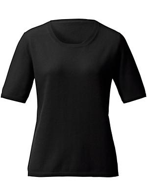 Peterseim - Round neck jumper in 100% new milled wool