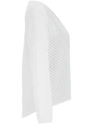 Samoon - Blouse top in a material blend