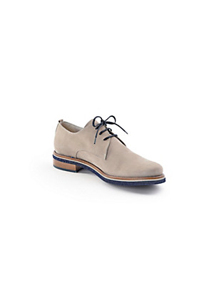 Scarpio - Soft calf nubuck leather lace-ups
