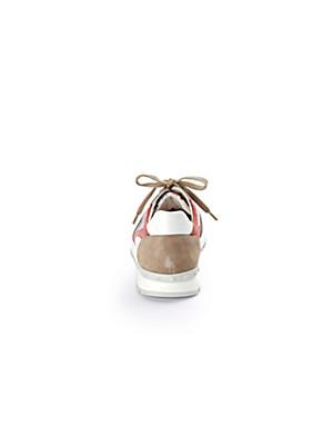Scarpio - Trainers made from kidskin suede and kidskin nappa