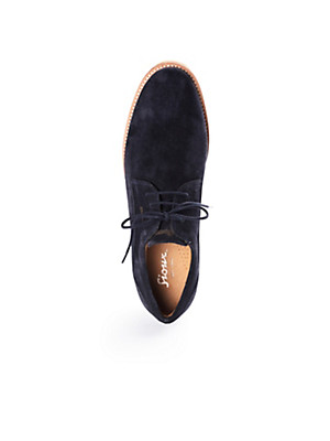 Sioux - Calfskin suede lace-ups