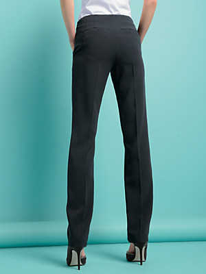 Strenesse - Trousers with pre-pressed creases