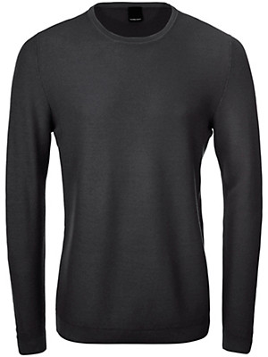 TEAMPROJECT - Round neck pullover in 100% new milled wool
