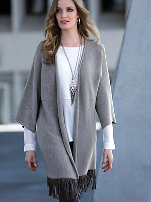 Uta Raasch - Cardigan in 100% new milled wool