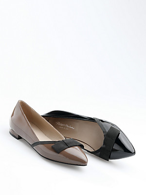 Uta Raasch - Exquisite patent cowhide leather ballerinas