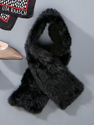Uta Raasch - Faux fur shawl