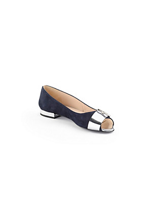 Uta Raasch - Feminine peep toe ballerinas