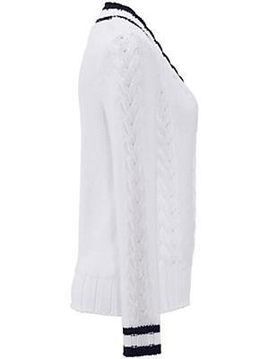 Uta Raasch - Long-sleeved V neck pullover