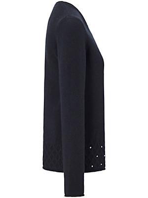 Uta Raasch - Round neck pullover in 100% cashmere