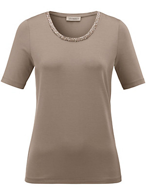 Uta Raasch - Round neck top with 1/2-length sleeves