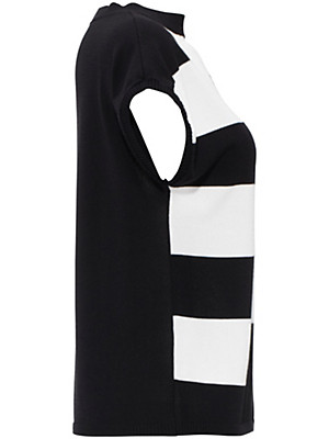 Uta Raasch - Summer pullover in a trendy black/white look