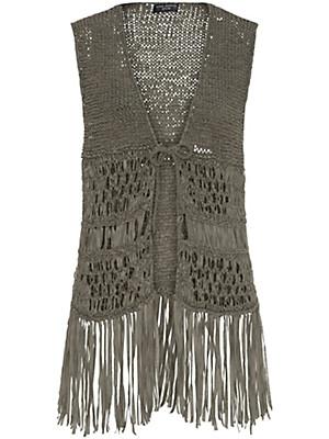 Via Appia Due - Crocheted waistcoat