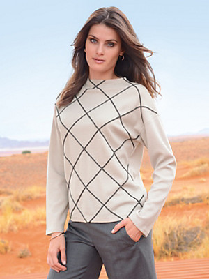 Windsor - Jumper  in 100% new milled wool