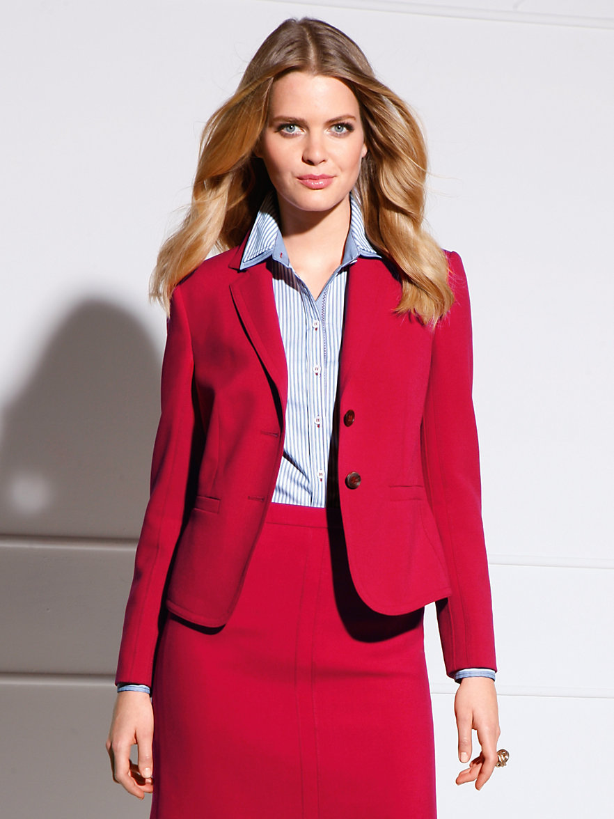 Cherry Red Blazer