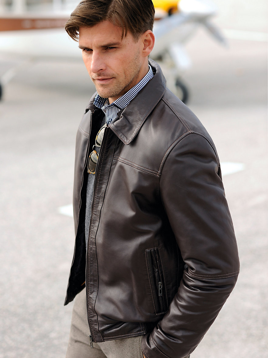 Bugatti leather jacket