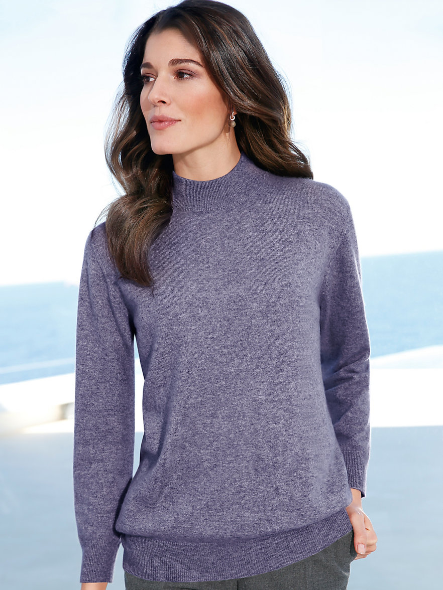 The softest cashmere and chunky weaves lend a chic layer to your look. Stock up on the classic turtleneck top and trending oversized silhouettes. Read more Hide.
