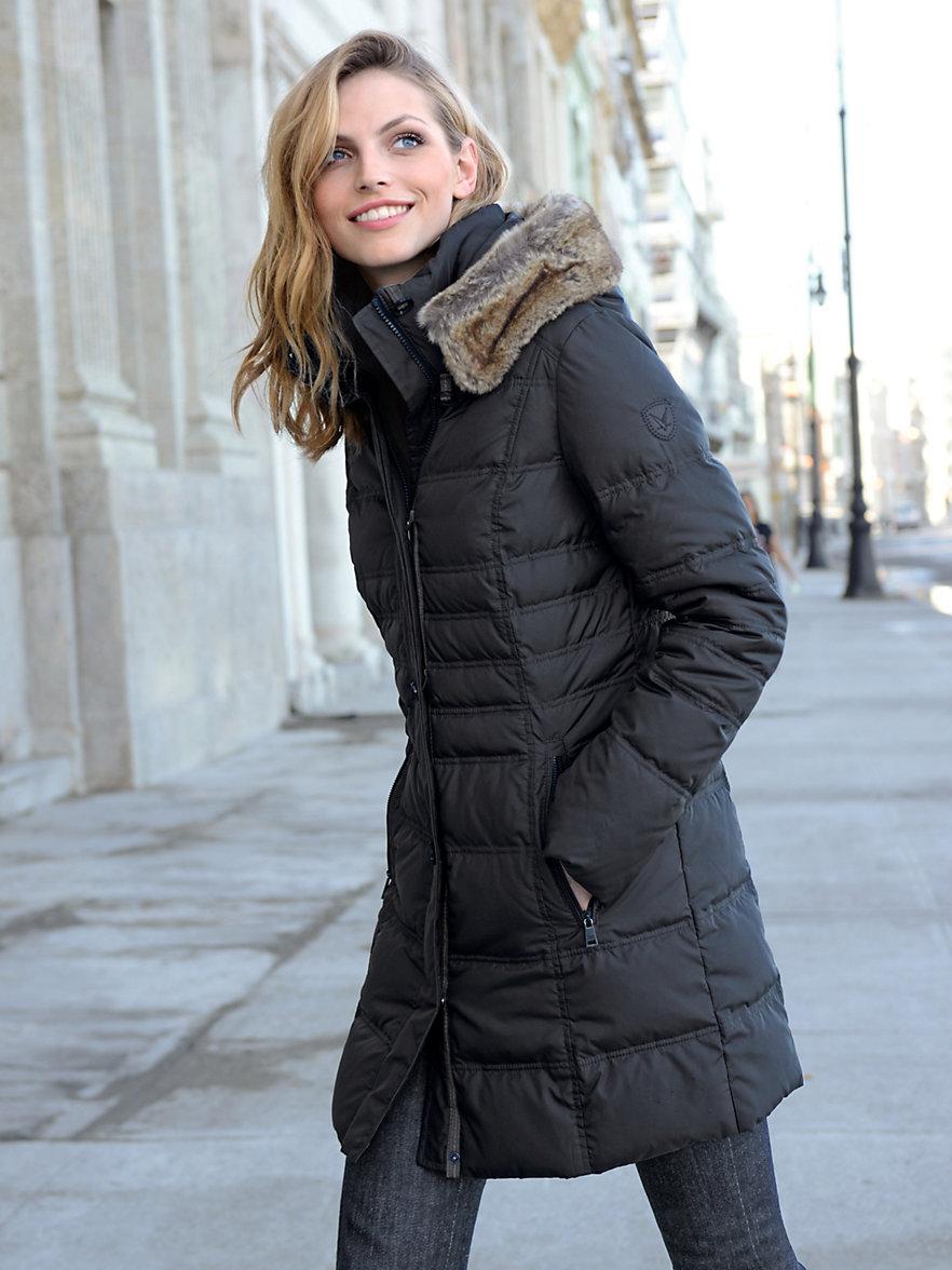 fuchs schmitt quilted down jacket black. Black Bedroom Furniture Sets. Home Design Ideas