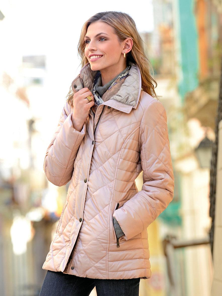 fuchs schmitt quilted jacket pale pink. Black Bedroom Furniture Sets. Home Design Ideas
